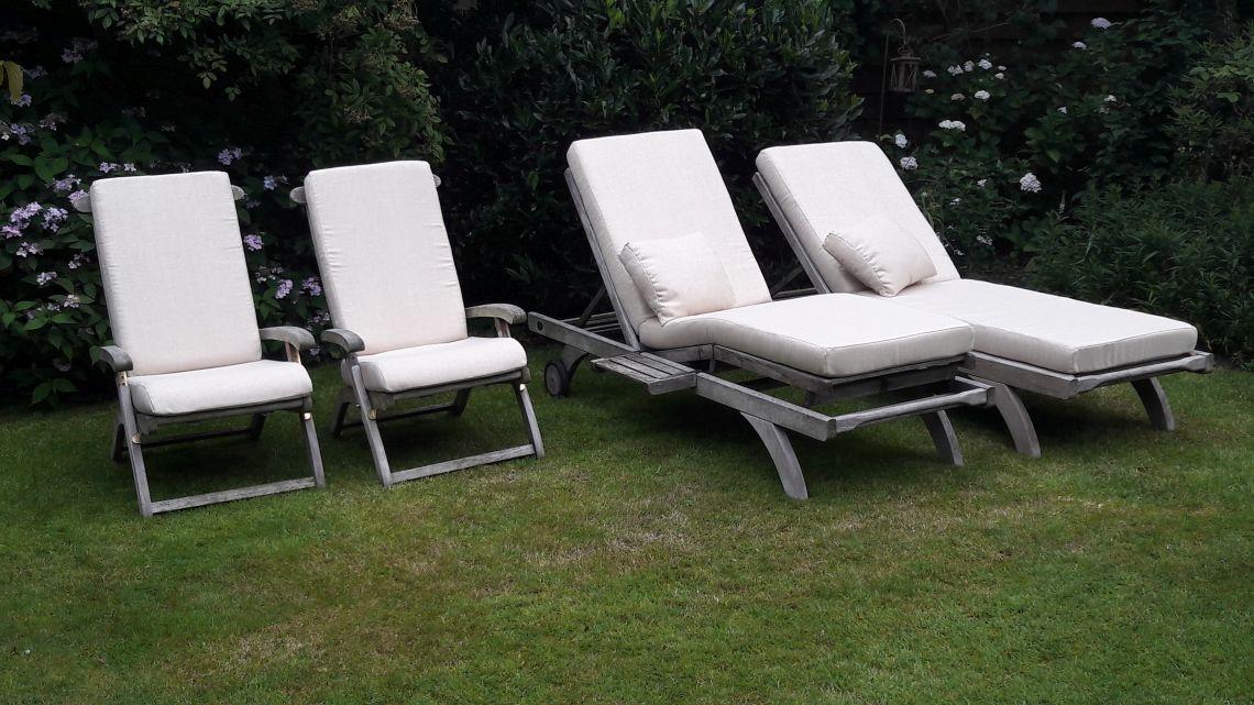 Kussens op maat, maatkussens, loungekussens DD&B outdoor living